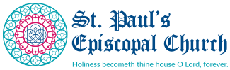 St. Paul's Episcopal Church Sticky Logo